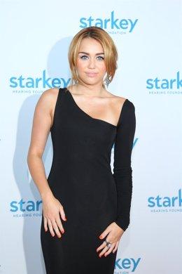 Miley Cyrus En Un Photocall