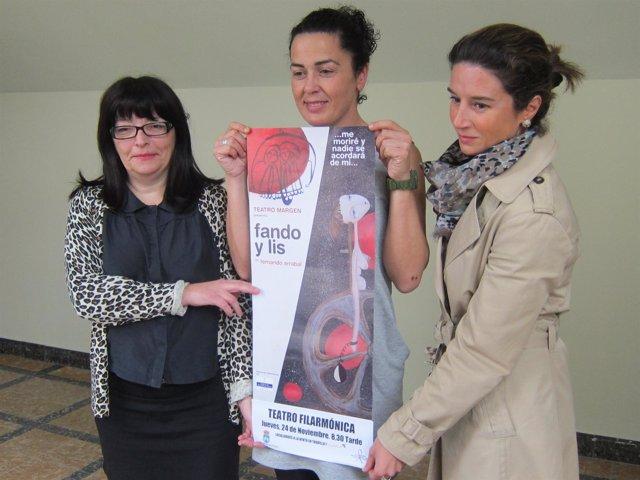 Marisa Pastor, Ángeles Arenas Y Silvia Junco, En La Presentación De 'Fando Y Lis