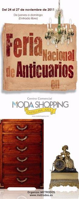 Feria De Anticuarios En Moda Shopping