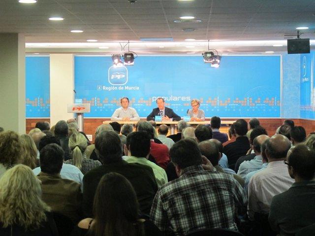 El Secretario General Regional Del PP, Miguel Ángel Cámara