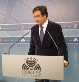 El Portavos Del Grupo Socialista En Las Cortes De Cyl, Óscar López