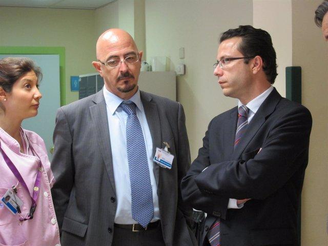 El Consejero De Sanidad, Javier Fernández-Lasquetty