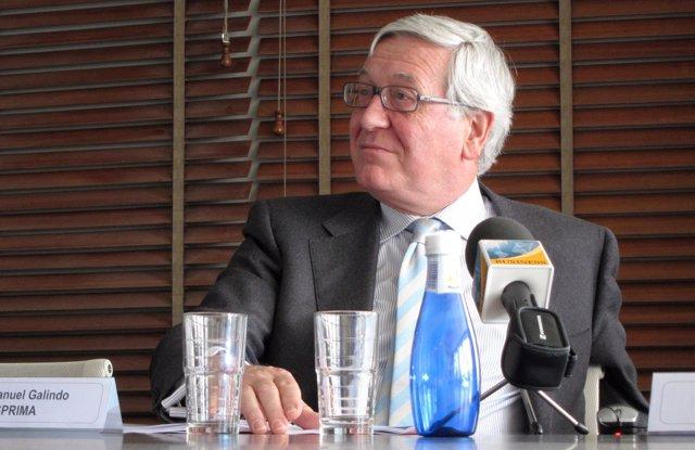 José Manuel Galindo, presidente de Asprima y APCE