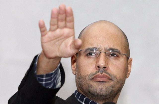 Saif el Islam, hijo de Gadafi