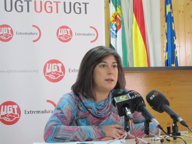 Ana Santos (UGT Extremadura)