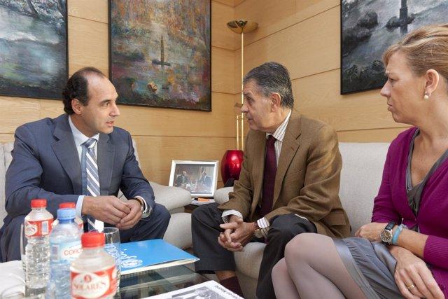Diego Recibe Al Presidente De UNICEF