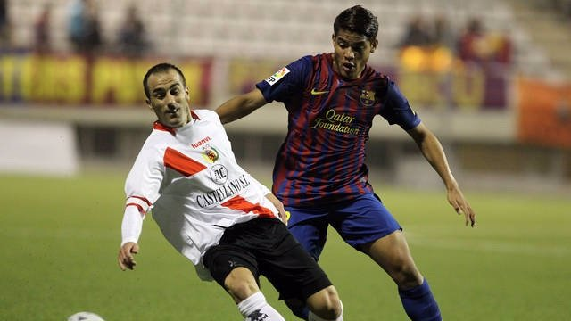El Jugador Del FC Barcelona Jonathan Dos Santos