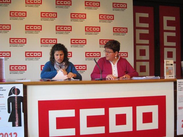 Pinilla Y Espeso, De La Secretaría De La Mujer De CC.OO. Castilla Y León