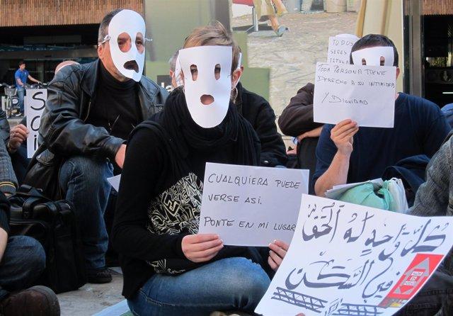 Participantes En El Flashmob De Valencia