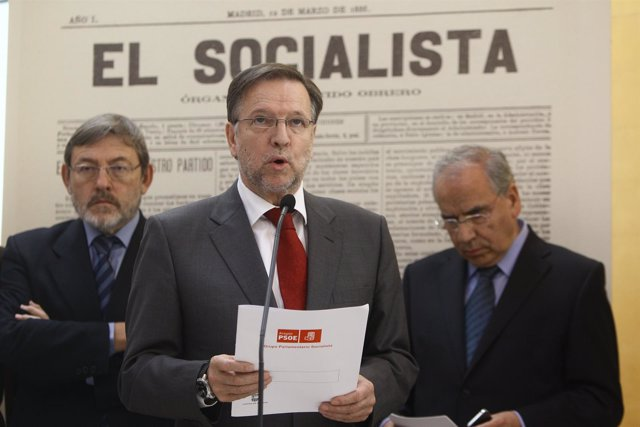 Secretario De Organización Del PSOE, Marcelino Iglesias