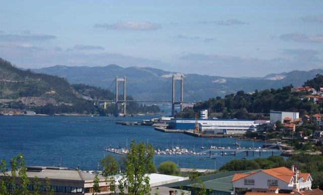 Vista Del Puente De Rande