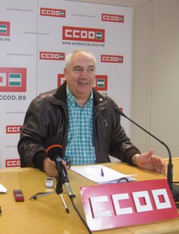 El Secretario General De CCOO-A, Francisco Carbonero