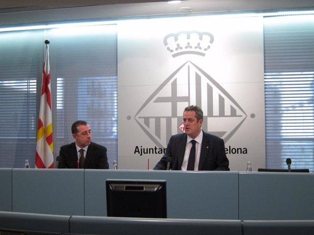 El Primer Teniente De Alcalde Del Ayuntamiento De Barcelona, Joaquim Forn