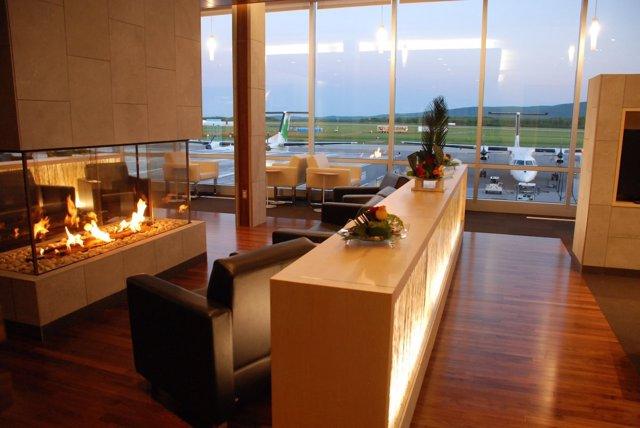 Sala VIP Del Aeropuerto De Quebec En Canada