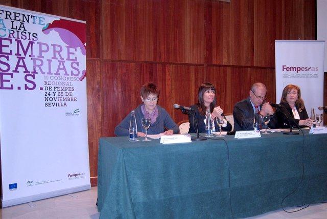 Micaela Navarro Inaugura El II Congreso Regional De Fempes