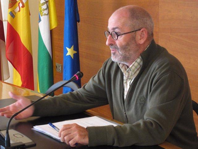 El Concejal De Medio Ambiente, Jesús Ruiz Tutor