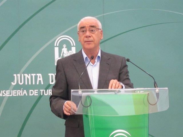 Luciano Alonso, Consejero De Turismo De Andalucía