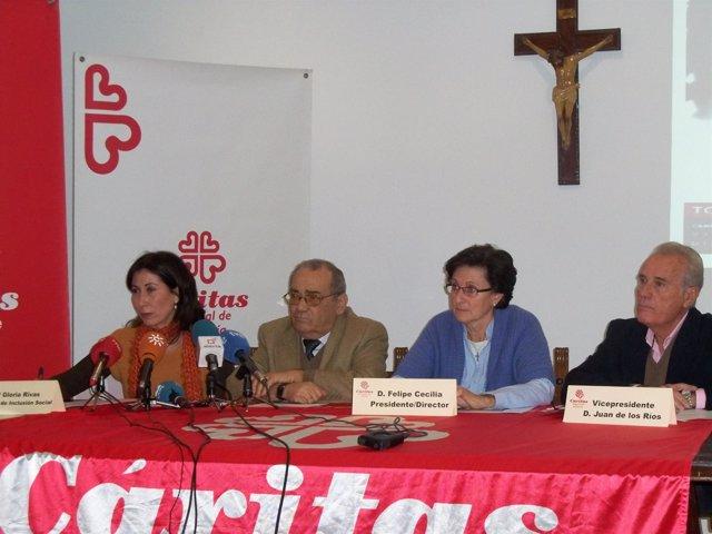Rueda De Prensa De Cáritas Regional De Andalucía, Este Jueves En Sevilla
