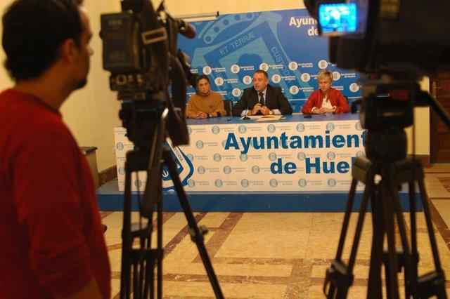 El Concejal De Economía En Huelva, Juan Carlos Adame.