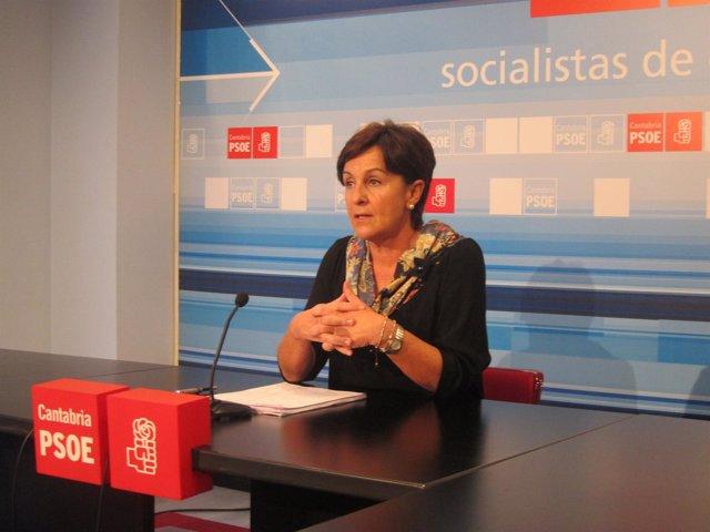 Dolores Gorostiaga, Secretaria General Del PSOE