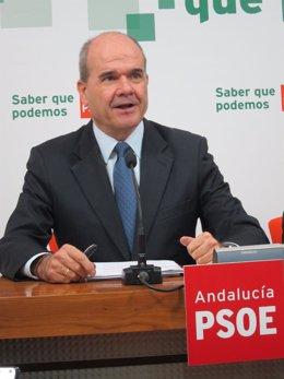 El Presidente Federal Del PSOE, Manuel Chaves
