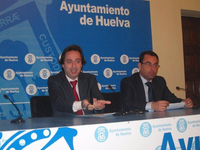 El Concejal De Deportes De Huelva, Manuel Remesal.