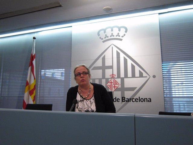 La Cuarta Teniente De Alcalde Del Ayto. De Arcelona, Maite Fandos