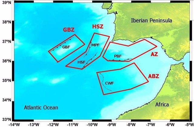 Esquema De Los Riesgos En El Golfo De Cádiz