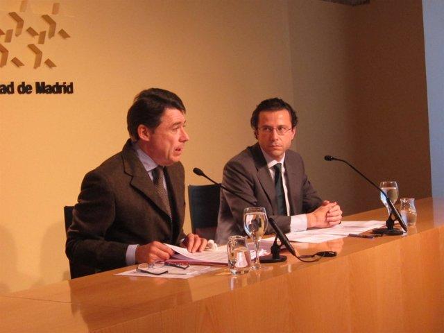 González Y Lasquetty En Rueda De Prensa Posterior Al Consejo De Gobierno