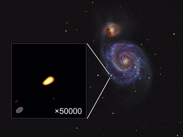 Supernova Fotografiada Por Astrónomos De La UV