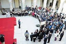Cáritas En El Parlamento De Cantabria