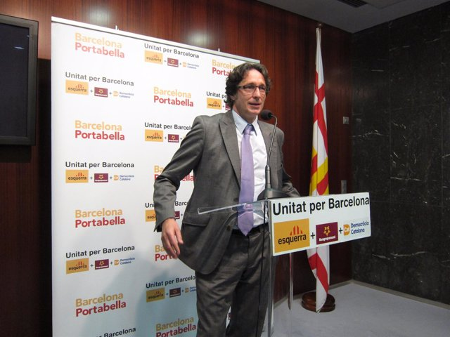 El Líder De Upb, Jordi Portabella (ERC)