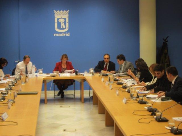 Comisión De Hacienda Del Ayuntamirnto De Madrid