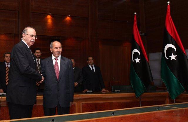 Los Miembros Del Nuevo Gobierno De Libia