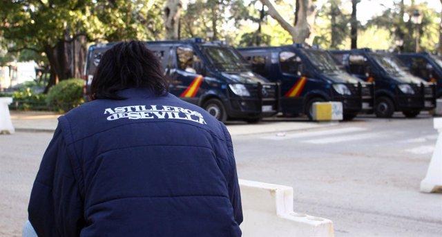 Movilización De Los Trabajadores De Astilleros De Sevilla