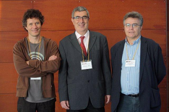 Manuel Guzmán, Rafael Franco Y Javier Fernández-Ruiz.