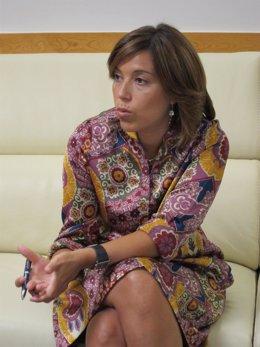 La Alcaldesa De Huesca, Ana Alós.