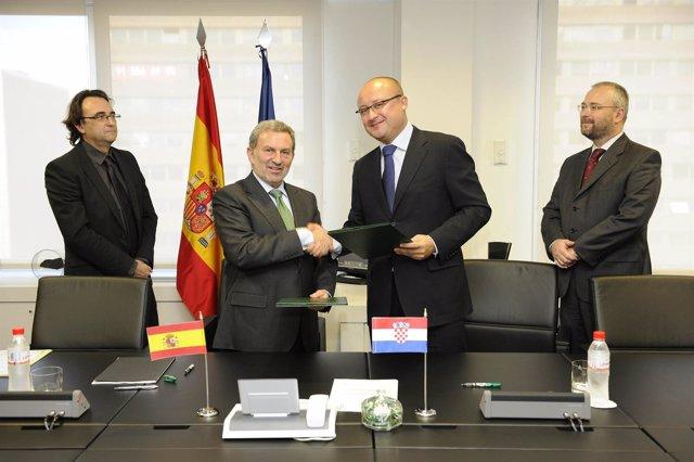 Acuerdo Entre Adif Y Los Ferrocarriles De Croacia