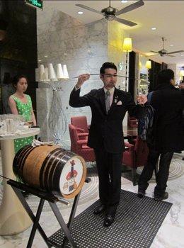 Acción Promocional De Bebidas Andaluzas En China