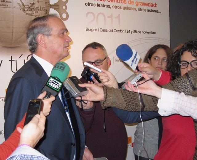 El Presidente De Caja De Burgos, José María Leal