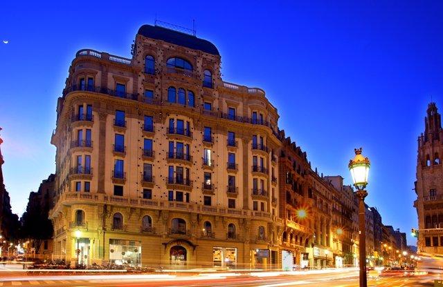 Fachada del hotel Ohla de Barcelona