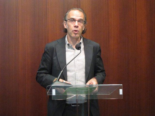 Ricard Gomà (ICV), En Rueda De Prensa