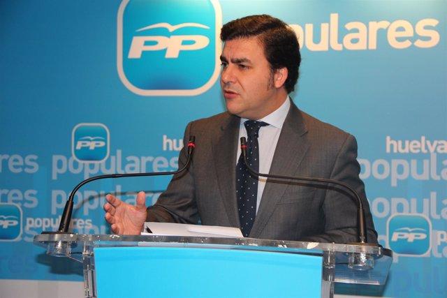 El Portavoz Del PP En Punta Umbría, José Carlos Hernández Cansino.