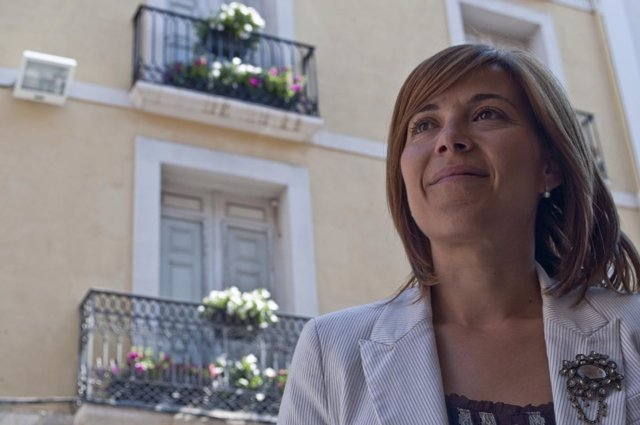 Ana Alós, Alcaldesa De Huesca