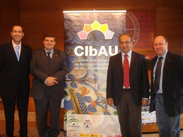La UHU Y La UNIA Acogen La Cumbre Iberoamericana De Antiguos Alumnos.