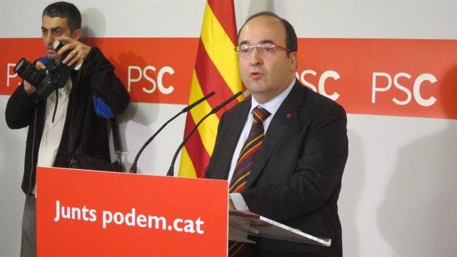 El Viceprimer Secretario Del PSC, Miquel Iceta