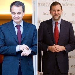 Montaje Zapatero Rajoy