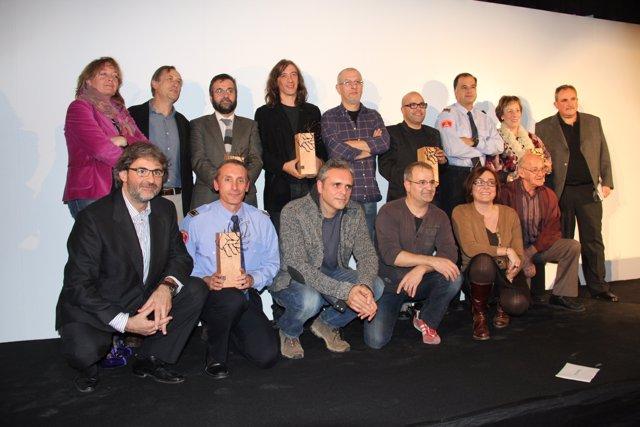 Galardonados Con Los Premios  'Moscas'
