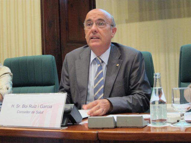 Comparecencia Del Conseller De Salud, Boi Ruiz