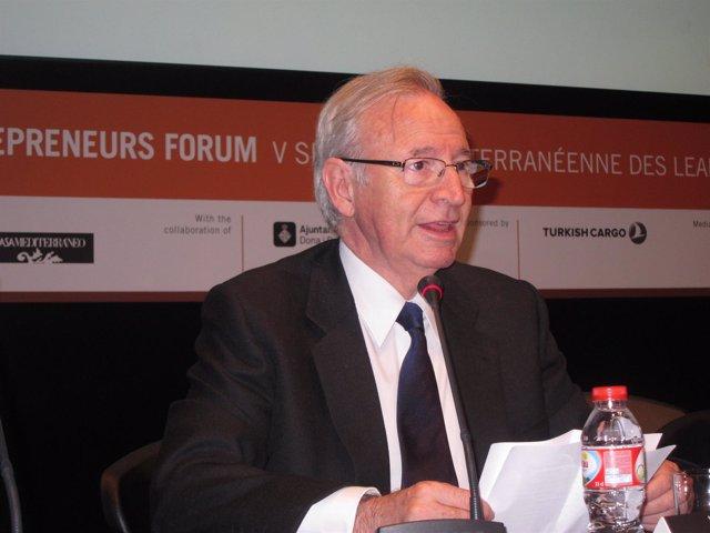 Miquel Valls, Pte.De La Cámara De Comercio De Barcelona